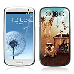 Designer Depo Hard Protection Case for Samsung Galaxy S3 / Animals' Party