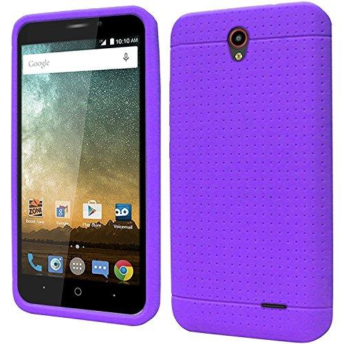 HR Wireless Carrying Case for ZTE Prestige N9132 - Retail Packaging - Purple ()