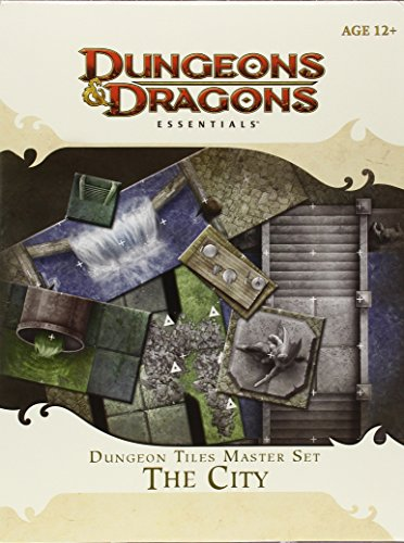 Dungeon Tiles Master Set - The City: An Essential Dungeons & Dragons Accessory (Dungeons And Dragons Maps)