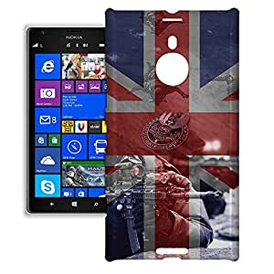 Phone Case For Nokia Lumia 1520 - SAS Special Forces Inspired Glossy Cover