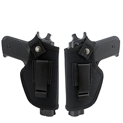LIVIQILY Hidden Carry Weapon case Metal Clip Holster Belt Airsoft Gun Pistol Holster Left Right Hand Draw