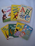 Dr. Seuss Board Book Set : The Eye Book - The Foot Book - The Nose Book - Hand Hand Fingers Toes - ABC - There's a Wocket in my Pocket (Book Sets for Toddlers : Dr. Seuss Collection)