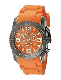 Swiss Legend Men's 10067-GM-06 Commander Analog Display Swiss Quartz Orange Watch