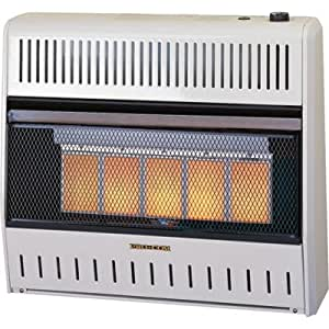 Procom Radiant Vent Free Natural Gas Heater 30 000 Btu