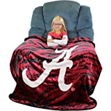 College Covers Alabama Crimson Tide Super Soft Raschel Throw Blanket, 50'' x 60''