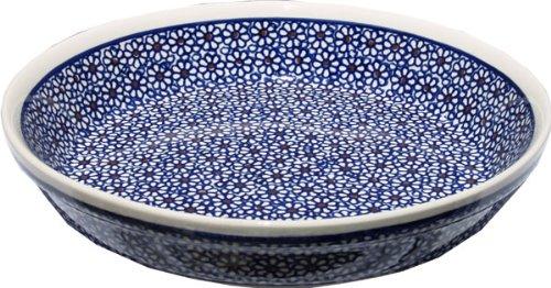 Polish Pottery Dish Pie Plate 9.5