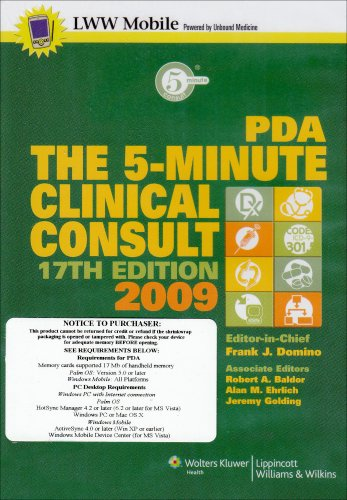 The 5-Minute Clinical Consult 2009 for PDA: Powered by Unbound Medicine, Inc. (The 5-Minute Consult Series)