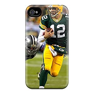 Durable Protector Case Cover With Aaron Rodgers Mvp Hot Design For Iphone 4/4s