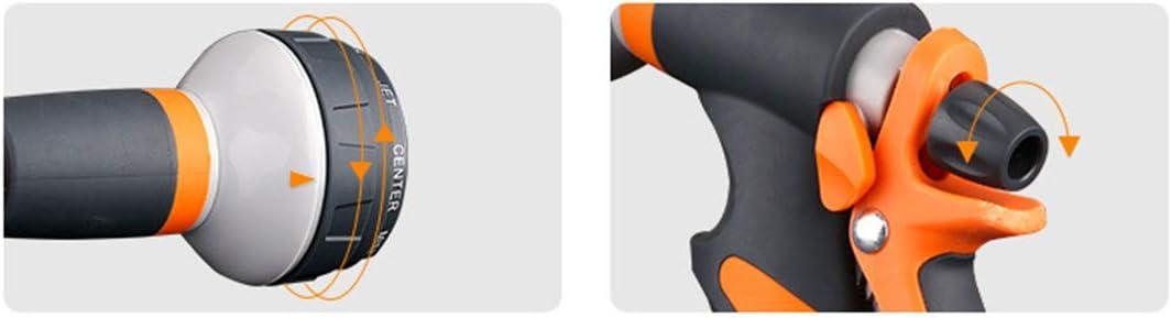 Yardwe Spritzpistole f/ür Gartenspritze 8 Verschiedene Spr/üchen mit Multifunktion Handbrause Hochdruckspr/üher f/ür einfache Bew/ässerung Reinigung Auto,Pet Balneation