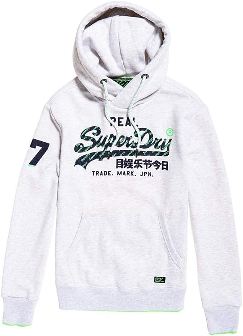 Superdry Vintage Logo Neon Tip Hood Sweat à Capuche Homme