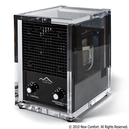 6 Stage Acrylic CA3500 New Comfort UV Ozone Generator Air Pu