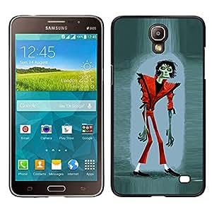 LECELL--Funda protectora / Cubierta / Piel For Samsung Galaxy Mega 2 -- zombie Jackson de Halloween divertida película de suspenso --
