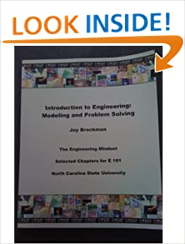 Book Introduction to Engineering: Modeling and Problem Solving