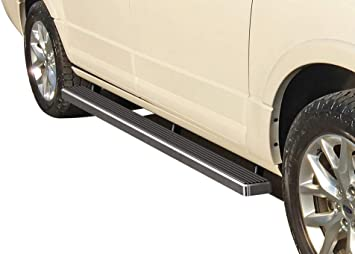 Excl. EL Model iBoard Black Running Boards Style Custom Fit 1997-2017 Ford Expedition Sport Utility 4-Door Nerf Bars   Side Steps   Side Bars