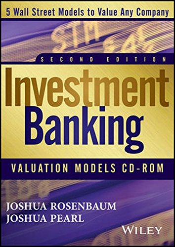 Investment Banking Valuation Models CD by Wiley