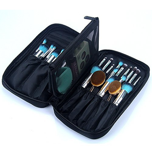 Makeup Brush Bag Case Cosmetic Pouch Storage Handle Organize