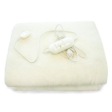 Argoclima Nature Single Calentador de cama eléctrico - Manta eléctrica (Lana)
