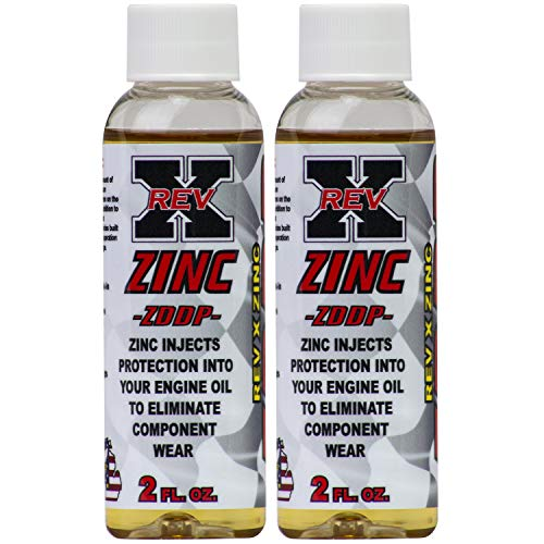 REV-X ZDDP Oil Additive - Zinc for Flat Tappet Cams & Engine Break in (2)