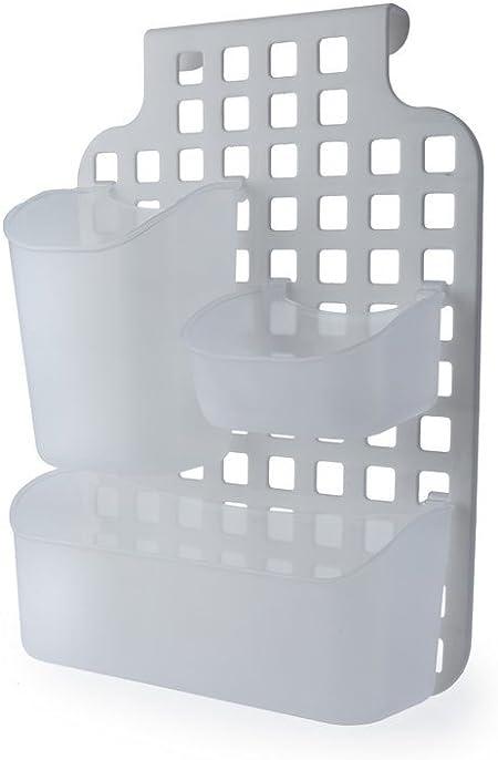 Cesta de plástico para armario de cocina, puerta de baño, mampara ...