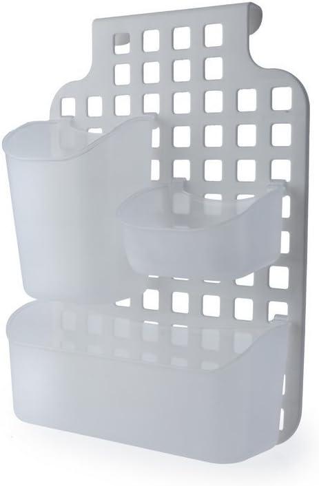Cesta de plástico para Armario de Cocina, Puerta de baño, mampara de Ducha: Amazon.es: Hogar