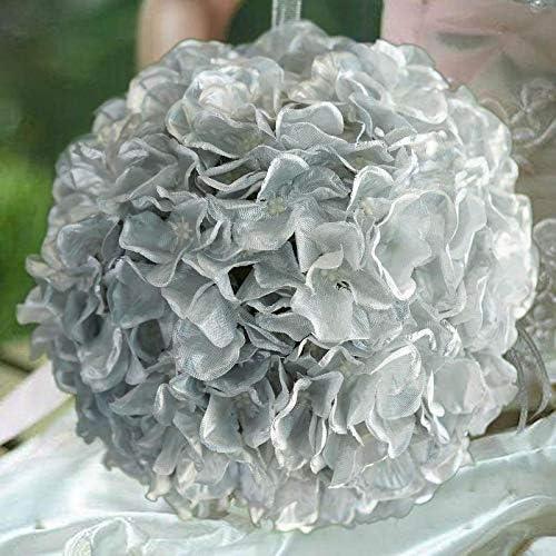Efavormart - Juego de 4 Bolas de Hortensia de Seda para decoración ...