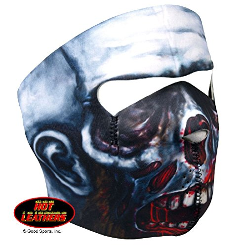 (Zombie Walking Dead Hot Leathers Skull Neoprene Face Mask Biker)