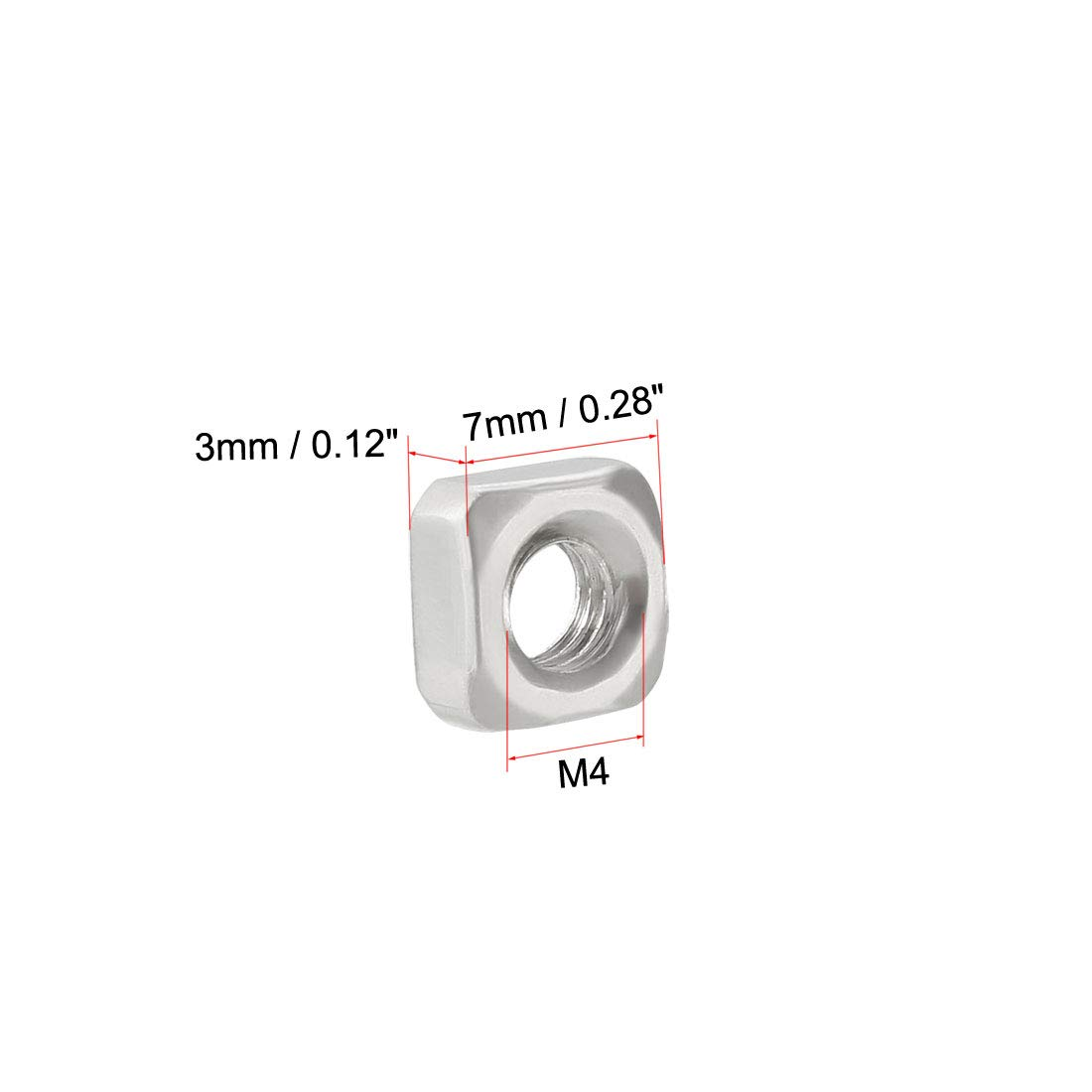 Bright Finish Uncoated M6-1.00 Thread Size Union Butterfield 1700 M Round Shank with Square End Bottoming Chamfer High-Speed Steel Hand Tap