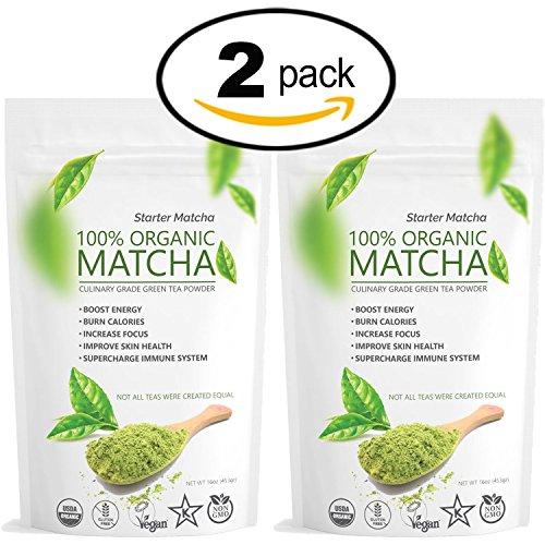 Starter Matcha Set 16oz Gluten Free product image