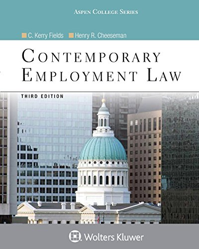 Contemporary Employment Law (Aspen College)