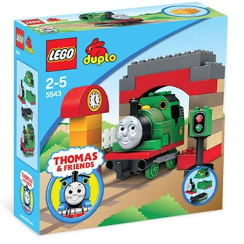 Lego Duplo 5543 Thomas The Tank Engine Percy At The Sheds Amazonco