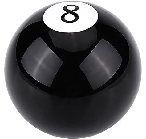 BILLARES Y DARDOS CAMARA Bola de Billar 8 tamaño 57,2mm para Juego de Bolas de Billar Americano, Bola Negra: Amazon.es: Deportes y aire libre