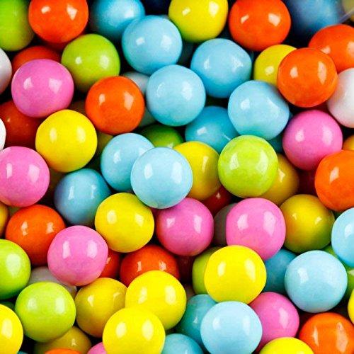 FirstChoiceCandy Sixlets Milk Chocolate Balls (Pastel Mix, 2 LB)