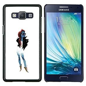 YiPhone /// Prima de resorte delgada de la cubierta del caso de Shell Armor - De moda las gafas de sol de moda de mujer de chicas - Samsung Galaxy A5 A5000