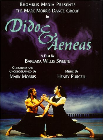 Cover Art for DVD of Dido and Aeneas