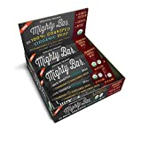 Mighty Organic, Mighty bar, 100% Grass fed Organic Beef Bar, Cranberry and Sunflower Seed, 1oz, 12 pack