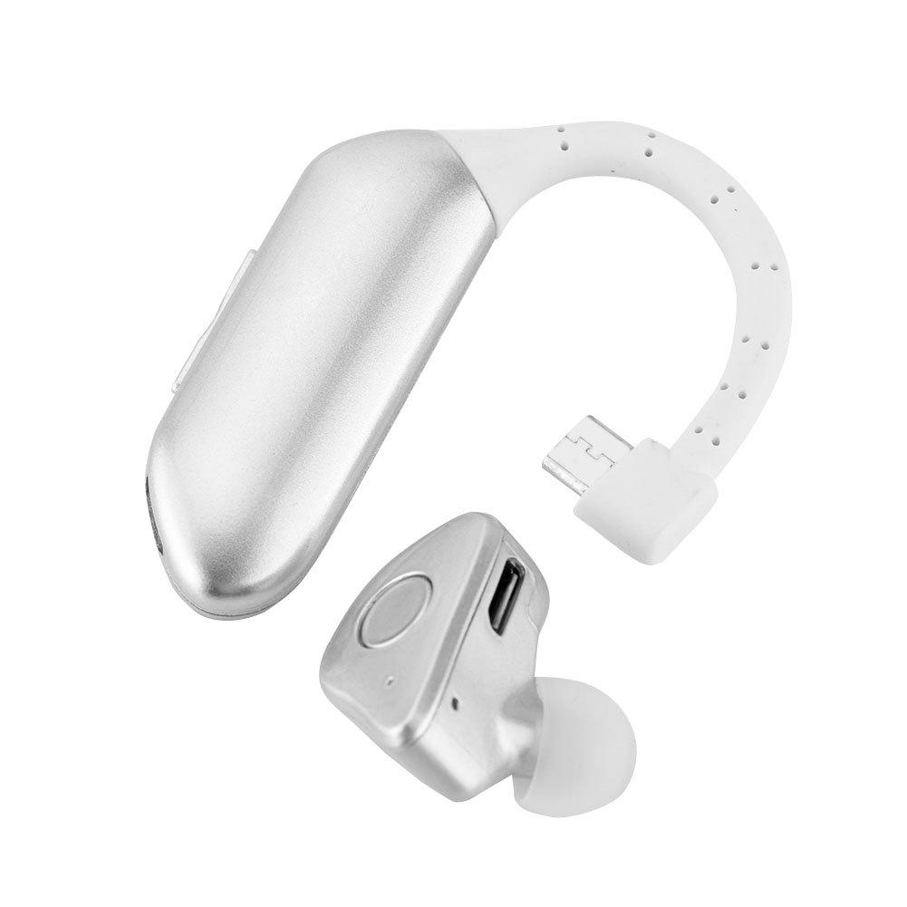 Yosooo Wireless Lightweight Earphone, Double Battery Bluetooth Stereo Headset Detachable Earbuds