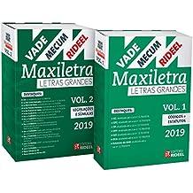 Vade Mecum Maxiletra Rideel - 2 Volumes. Letra Grande