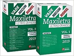 Vade Mecum Maxiletra Rideel. Letra Grande - 2 Volumes