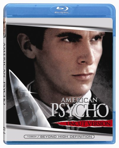 American Psycho (Uncut Version) [Blu-ray] Christian Bale Mary Harron Lionsgate Home Entertainment 0000200001057373173664