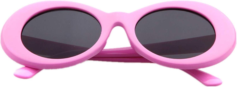 ADEWU Occhiali di protezione, occhiali da sole ovali Pink
