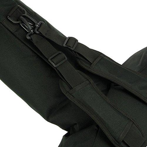 Anglo Arms Grande Fusil /à Fermeture /Éclair Noir rembourr/é arbal/ète Support de Sac Poche lat/érale pour boulons