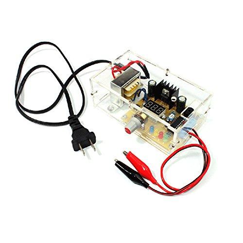 (LM317 1.25V-12V Continuously Adjustable Regulated Voltage Power Supply DIY Kit US)