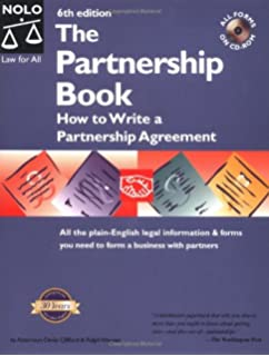 The partnership charter how to start out right with your new the partnership book how to write a partnership agreement with cd rom fandeluxe Images