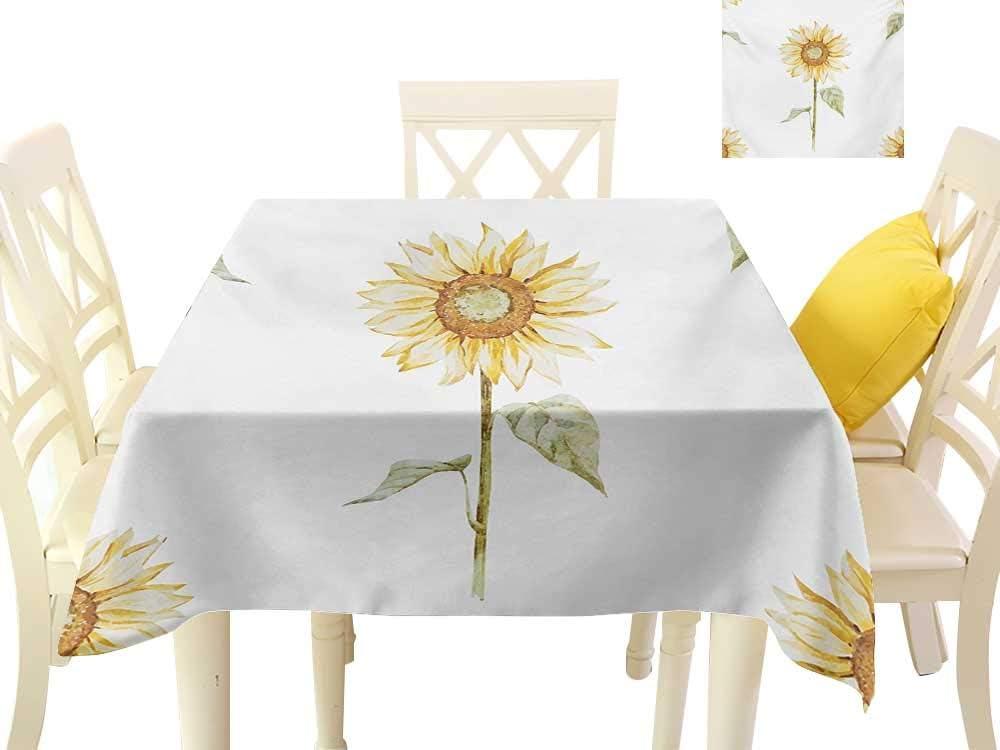 familytaste, Mantel de Mesa con diseño de Girasoles, Tonos de ...
