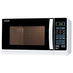 Sharp r742ww Horno a microondas con grill de cuarzo ...