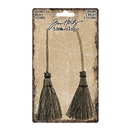 Tim Holtz Halloween Idea-Ology, Broomsticks -