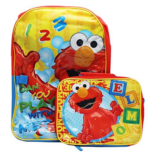 Sesame Street Learning Backpack Detachable