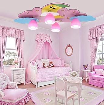 GH Kinder Zimmer Beleuchtung LED Lampen warmes Schlafzimmer Ideen ...