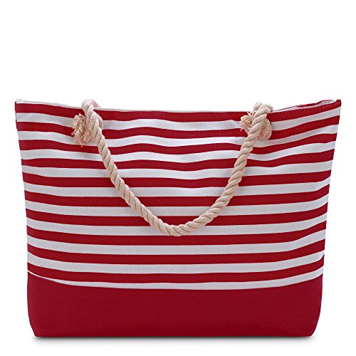 Bag Beach Red - Vera Tote Shoulder Bag- NEW LAUNCH! (Loving Red)