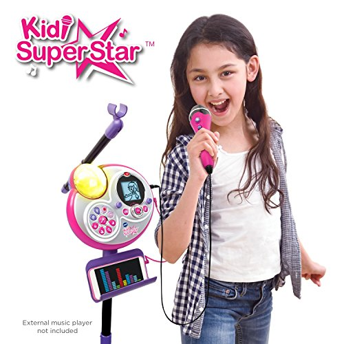 VTech Kidi Super Star Karaoke System with Mic Stand Amazon Exclusive by VTech (Image #3)